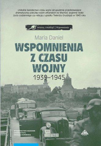 Wspomnienia z czasu wojny 1939-1945 - okładka książki