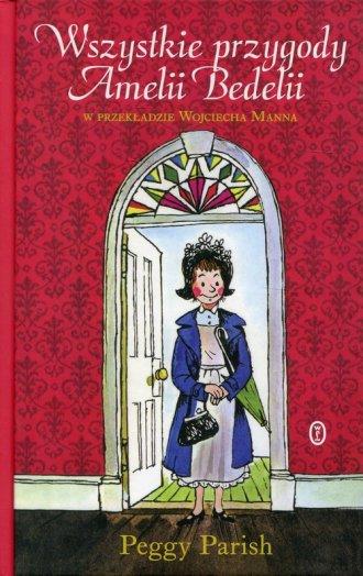 Wszystkie przygody Amelii Bedelii - okładka książki