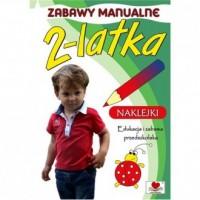 Zabawy manualne 2-latka - okładka książki