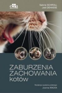 Zaburzenia zachowania kotów - Sabine - okładka książki
