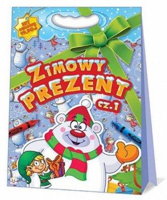 Zimowy prezent cz. 1. Teczka - okładka książki