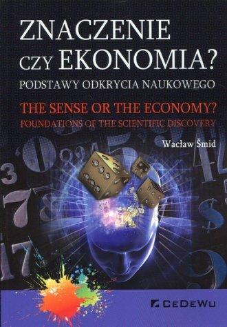 Znaczenie czy ekonomia? Podstawy - okładka książki