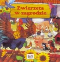 Zwierzęta w zagrodzie - okładka książki
