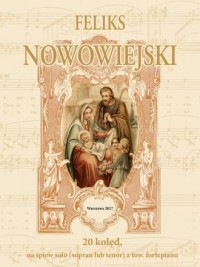20 kolęd - Feliks Nowowiejski - okładka książki