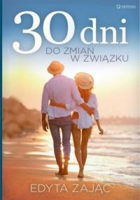 30 dni do zmian w związku - okładka książki