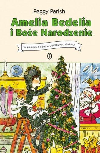 Amelia Bedelia i Boże Narodzenie - okładka książki