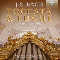Bach Toccata & Fugue Famous Organ Music - okładka płyty