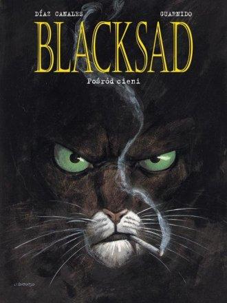 Blacksad. Tom 1. Pośród cieni - okładka książki
