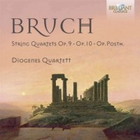Bruch: String Quartets Op.9 & 10 - okładka płyty