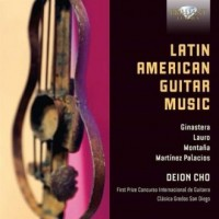 Cho Deion Latin American Guitar - okładka płyty