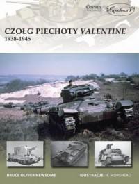 Czołg piechoty Valentine 1938-1945 - okładka książki