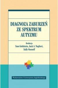 Diagnoza zaburzeń ze spektrum autyzmu - okładka książki