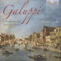 Galuppi: 6 Harpsichord Sonatas - okładka płyty
