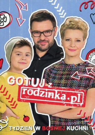 Gotuj Z Rodzinką.pl Tydzień W Boskiej - okładka książki