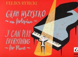 Gram wszystko na fortepian - okładka książki