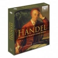 Handel: Complete Harpsichord Music - okładka płyty