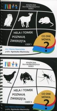 Hela i Tomek poznają zwierzętach - okładka książki
