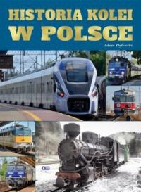 Historia kolei w Polsce - okładka książki