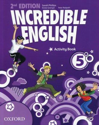 Incredible English 5 Activity Book - okładka podręcznika