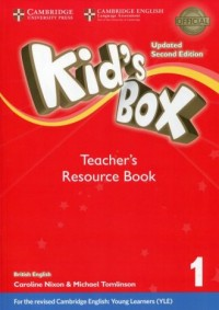 Kids Box 1 Teachers Resource Book. - okładka podręcznika