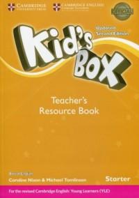 Kids Box Starter Teachers Resource Book with Online Audio - okładka podręcznika