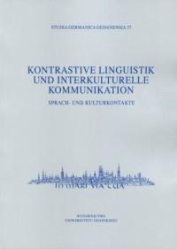Kontrastive Linguistik und interkulturelle - okładka podręcznika