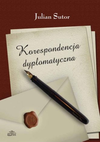 Korespondencja dyplomatyczna - okładka książki