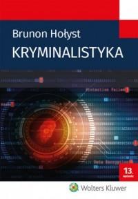 Kryminalistyka - okładka książki