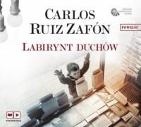 Labirynt duchów - Carlos Ruiz Zafon - pudełko audiobooku
