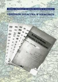 Leksykon Polactwa w Niemczech - okładka książki