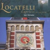Locatelli Capriccii Igor Ruhadze - okładka płyty