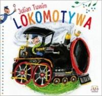 Lokomotywa - Julian Tuwim - okładka książki