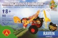 Mały Konstruktor. Samolot - Raven - zdjęcie zabawki, gry