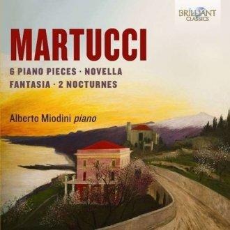 Martucci: Piano Music - okładka płyty