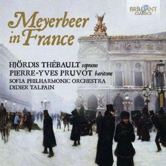 Meyerbeer In France - okładka płyty