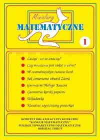 Miniatury matematyczne 1 - okładka podręcznika