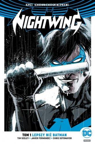 Nightwing. Tom 1. Lepszy niż Batman - okładka książki