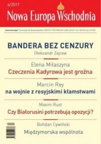 Nowa Europa Wschodnia 6/2017 - okładka książki