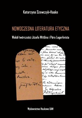 Nowoczesna literatura etyczna. - okładka książki