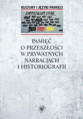 Pamięć o przeszłości w prywatnych - okładka książki