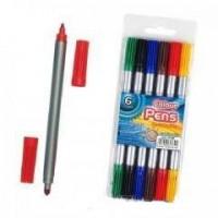 Pisaki dwustronne 6 kolorów - zdjęcie produktu