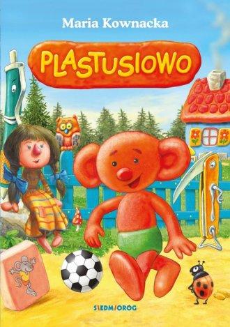 Plastusiowo - okładka książki