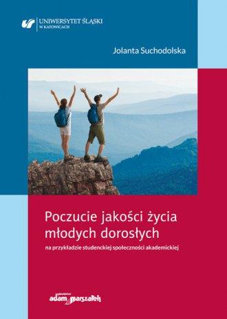 Poczucie jakości życia młodych - okładka książki
