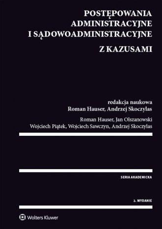 Postępowania administracyjne i - okładka książki