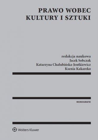 Prawo wobec kultury i sztuki - okładka książki