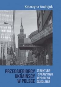Przedsiębiorcy ukraińscy w Polsce. Struktura i sprawstwo w procesie osiedlenia - okładka książki