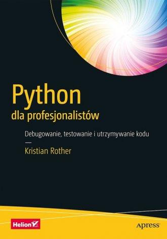 Python dla profesjonalistów. Debugowanie, - okładka książki