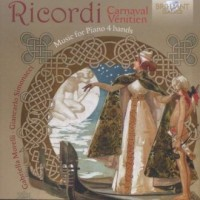 Ricordi Carnaval Venetien - Wydawnictwo - okładka płyty