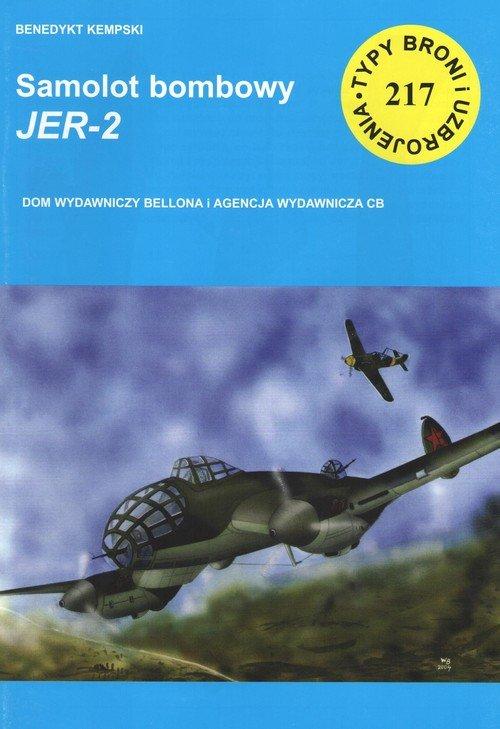 Samolot bombowy Jer-2 - okładka książki