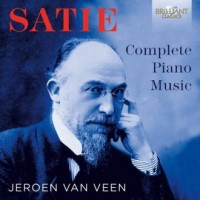 Satie: Complete Piano Music - Wydawnictwo - okładka płyty